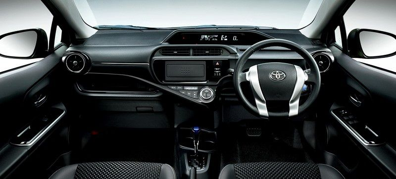 Toyota Aqua X Urban 2015 7 Hybrid Car Honda Fit Toyota