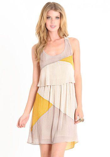Unkept Paradise Dress By Aryn K 88.00 at threadsence.com