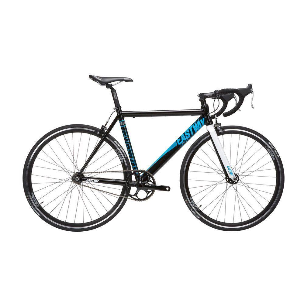 Eastway Men's TR 1.0 Single Speed Track Bike Black/Blue
