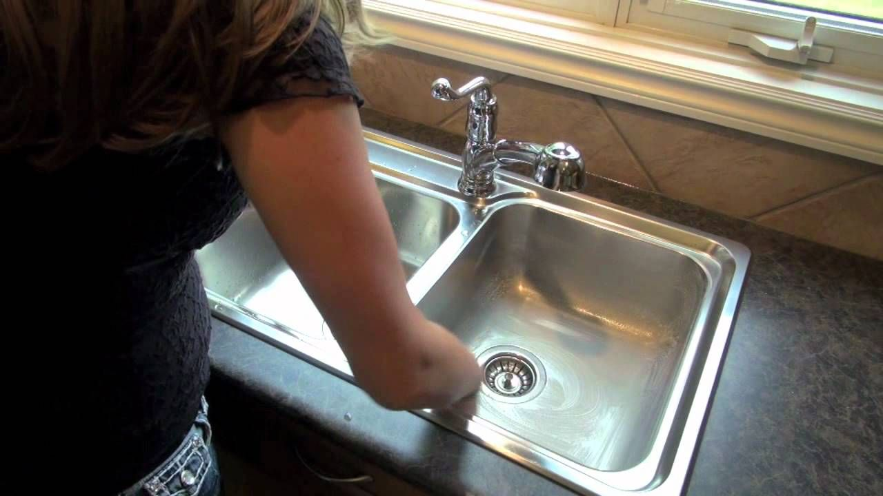 How To Clean Stainless Steel Sink With Norwex Cleaning Paste And