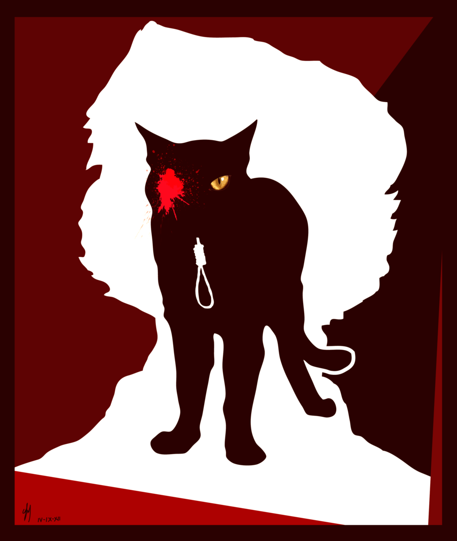 edgar allan poe black cat by thredith com on  edgar allan poe black cat by thredith com on