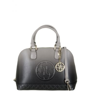 Guess-Handtas devyn dome bags black
