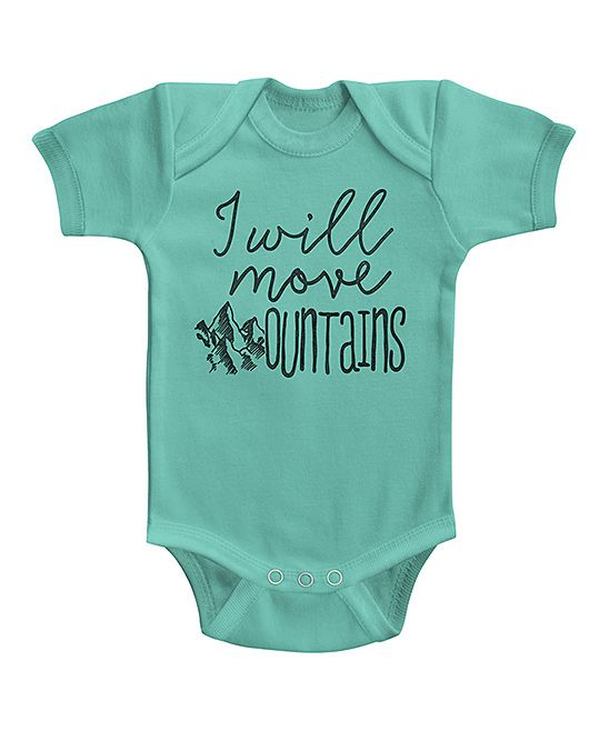 Caribbean 'I Will Move Mountains' Bodysuit - Infant