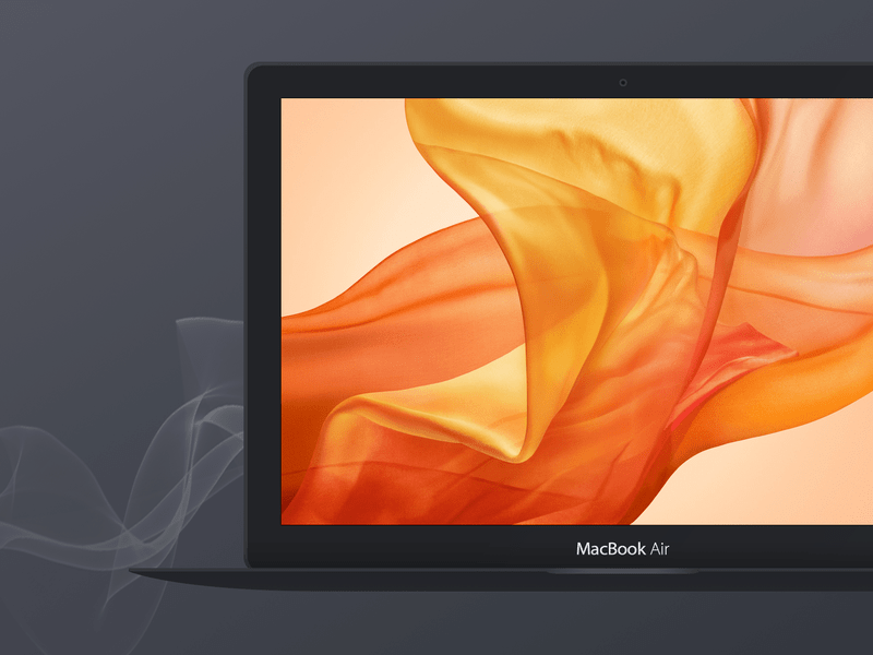 Free Dark Apple Macbook Air Mockup Apple Macbook Air Mockup Iphone Mockup