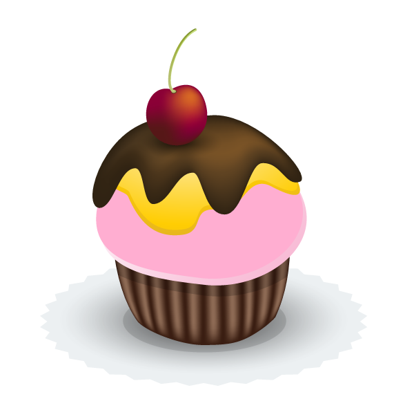 Create a vector cupcake Create a Stylish, Vector Hair Typography Illustration | #illustrator