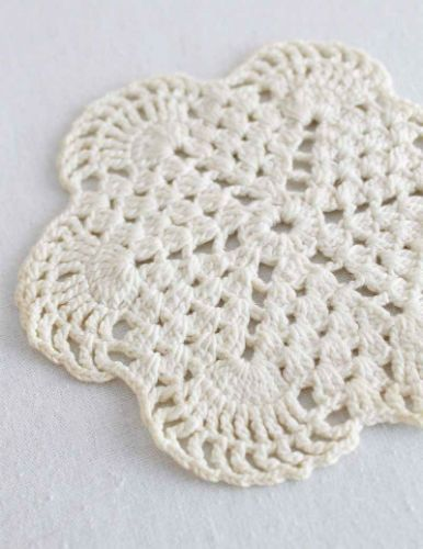 Free Crochet Pattern Vintage Mini Doily Crochet Coastersdoilies