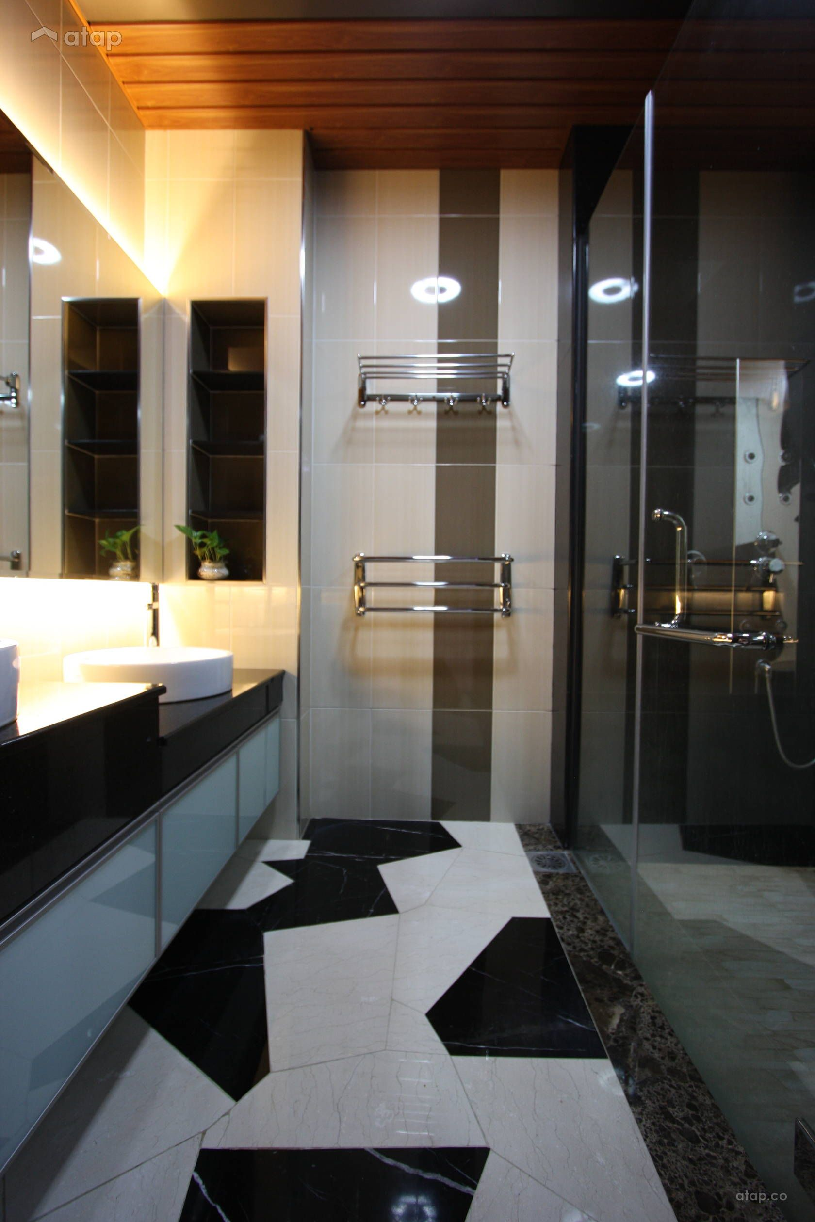 Modern Bathroom Semi Detached Design Ideas Photos Malaysia Atap Co Modern Bathroom Basement Bathroom Small Bathroom Remodel