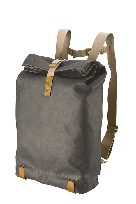 90bba616ff4f3 PICKWICK Backpack mud grey front Brooks England Bags for Spring 2013 ...