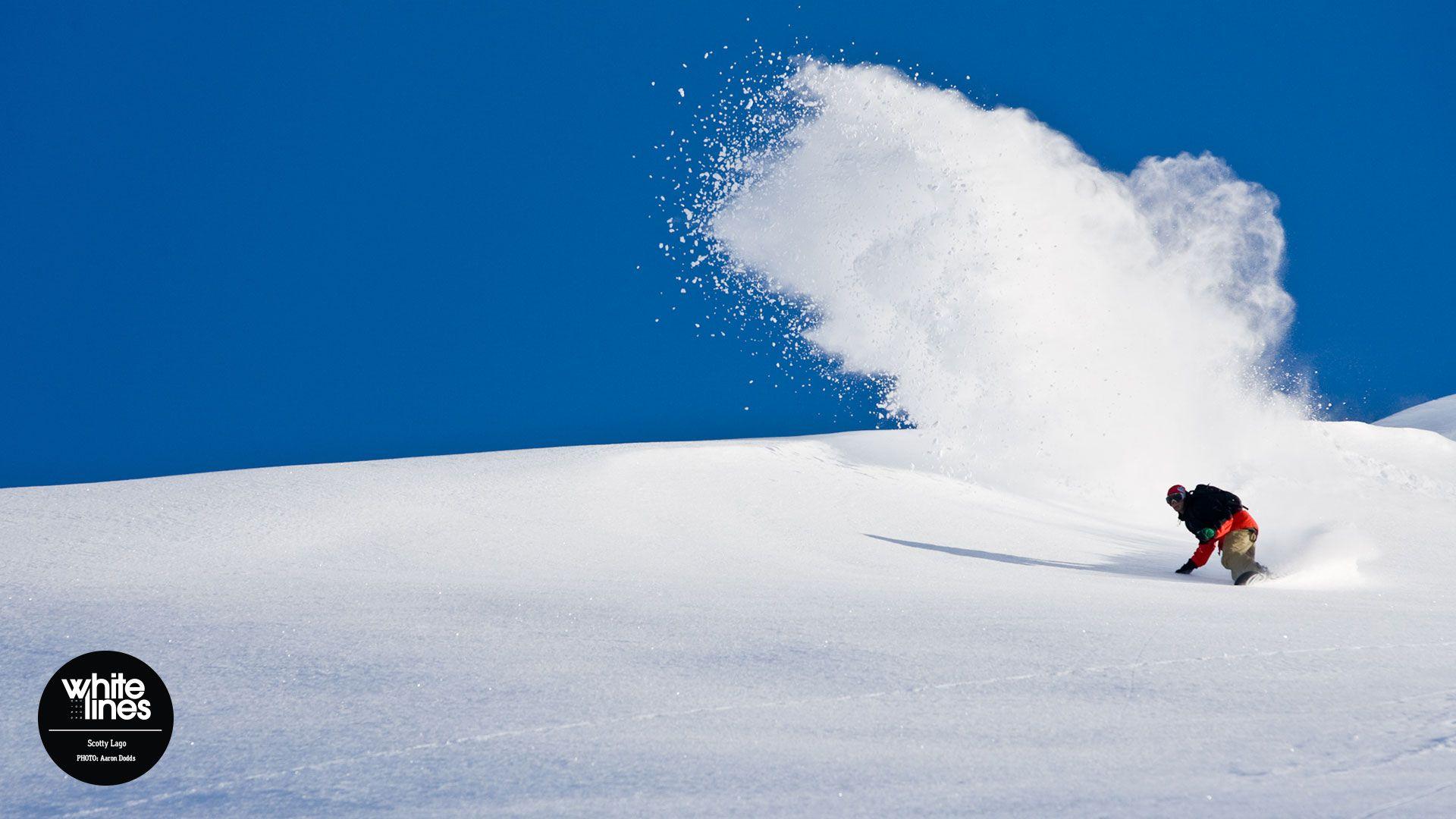 Scotty Lago Snowboarding Snowboard Skiing Giant Wall Art Poster Print