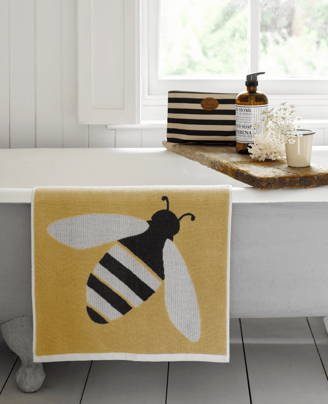Photo of Anorak Buzzy Bee Organic Cotton Bathroom Towels