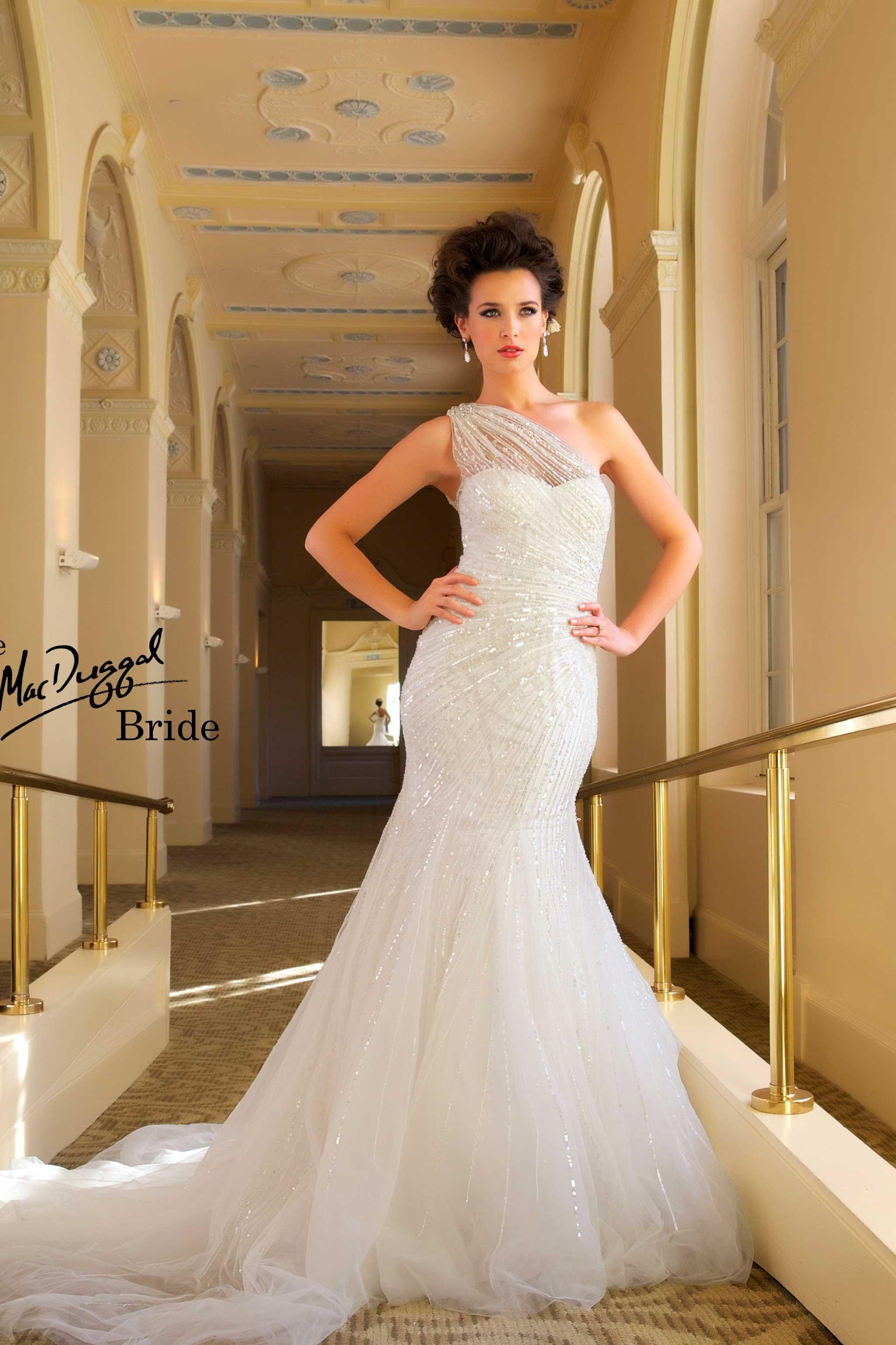 Modena Style 1217 Wedding dress sequin, Wedding