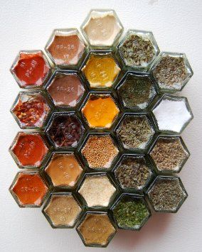 Organic Spice Rack Unique Everything Hex Organic Spice Kit For Your Fridgeincludes 24 Design Decoration