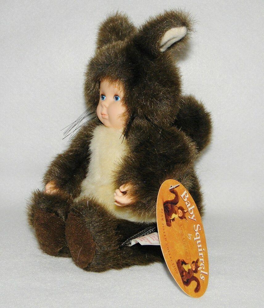 Anne Geddes Doll Baby Squirrel Plush Bean Bag 1998 Stuffed New Tags Annegeddes Dolls Baby Squirrel Squirrel Anne Geddes [ 1000 x 856 Pixel ]