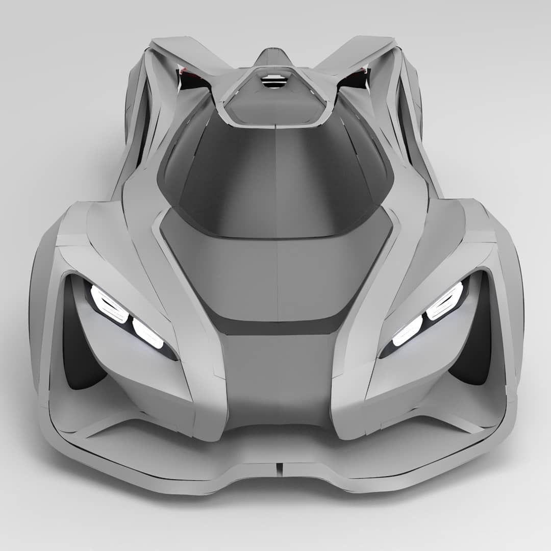 Virtual Reality Designer Apaque20 Creates An Impressive Supercar Using Gravity Sketch Design101trendsofficial Carde Car Design Super Cars Automotive Design