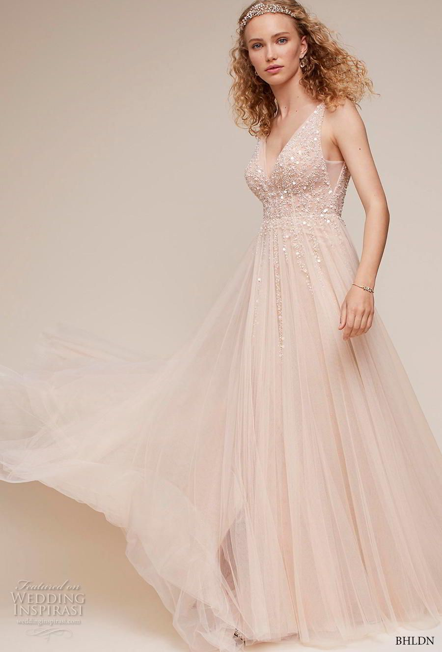 Effortless style with bhldnus own wedding dress collection