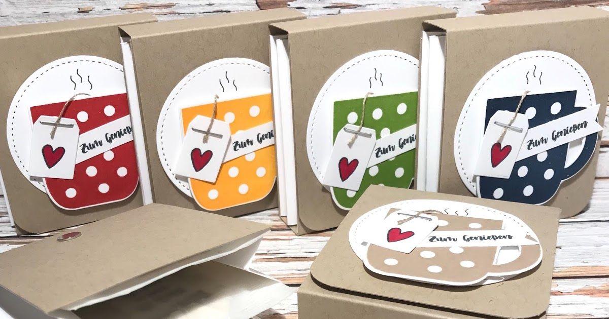 Teebeutelverpackungen mit Anleitung - Weihnachtstasse von Stampin´Up!