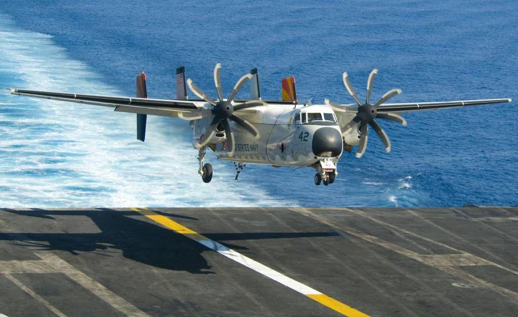 C 2a Greyhound Logistics Aircraft C-2A Greyhound assigne...