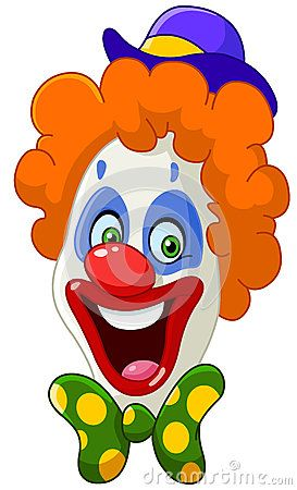 Royalty Free Illustrations And Royalty Free Clip Art Images Page 5 Clown Faces Clown Images Clowns Funny