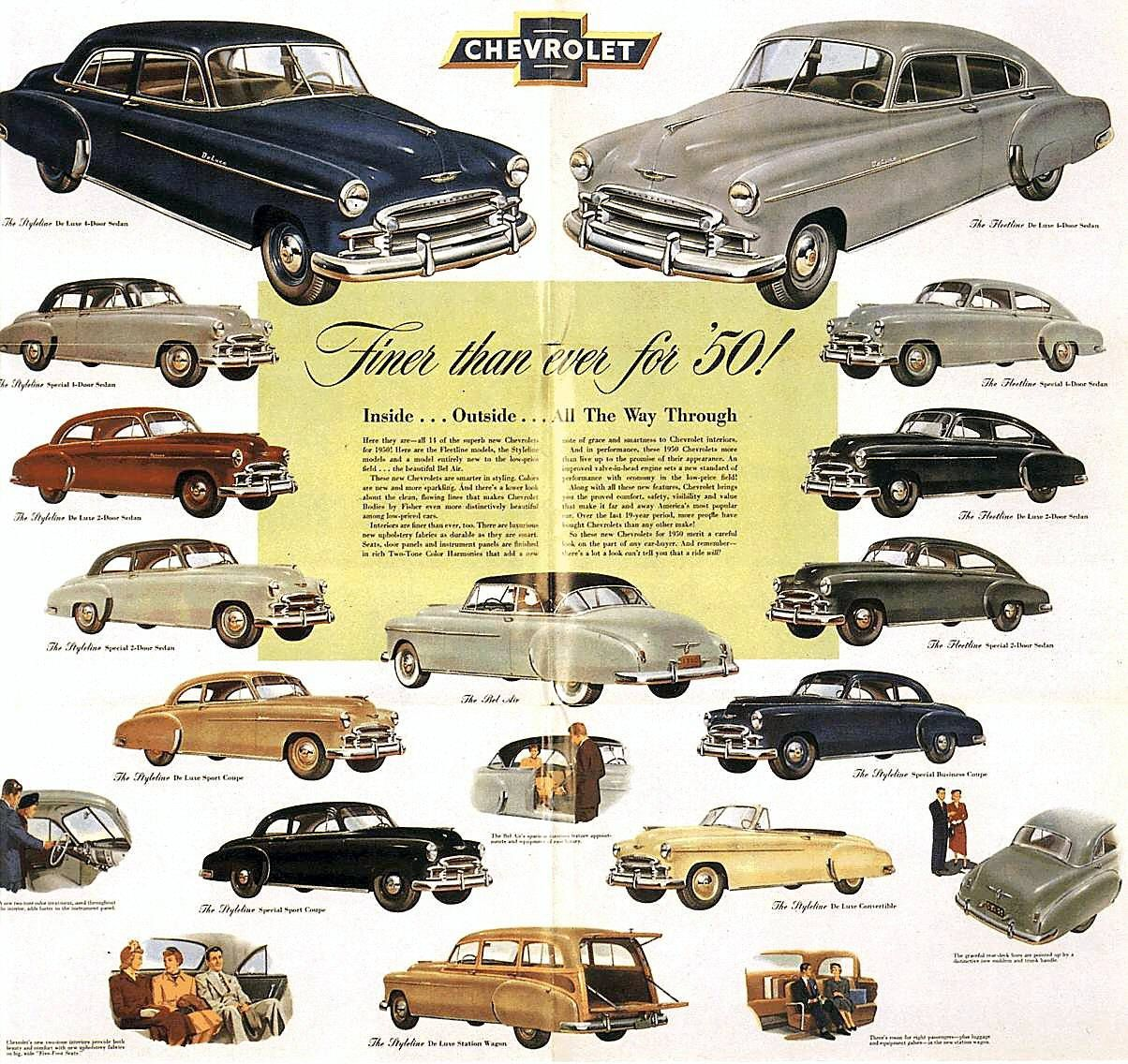 Directory Index Chevrolet 1950 Chevrolet Classic Cars Automobile Advertising