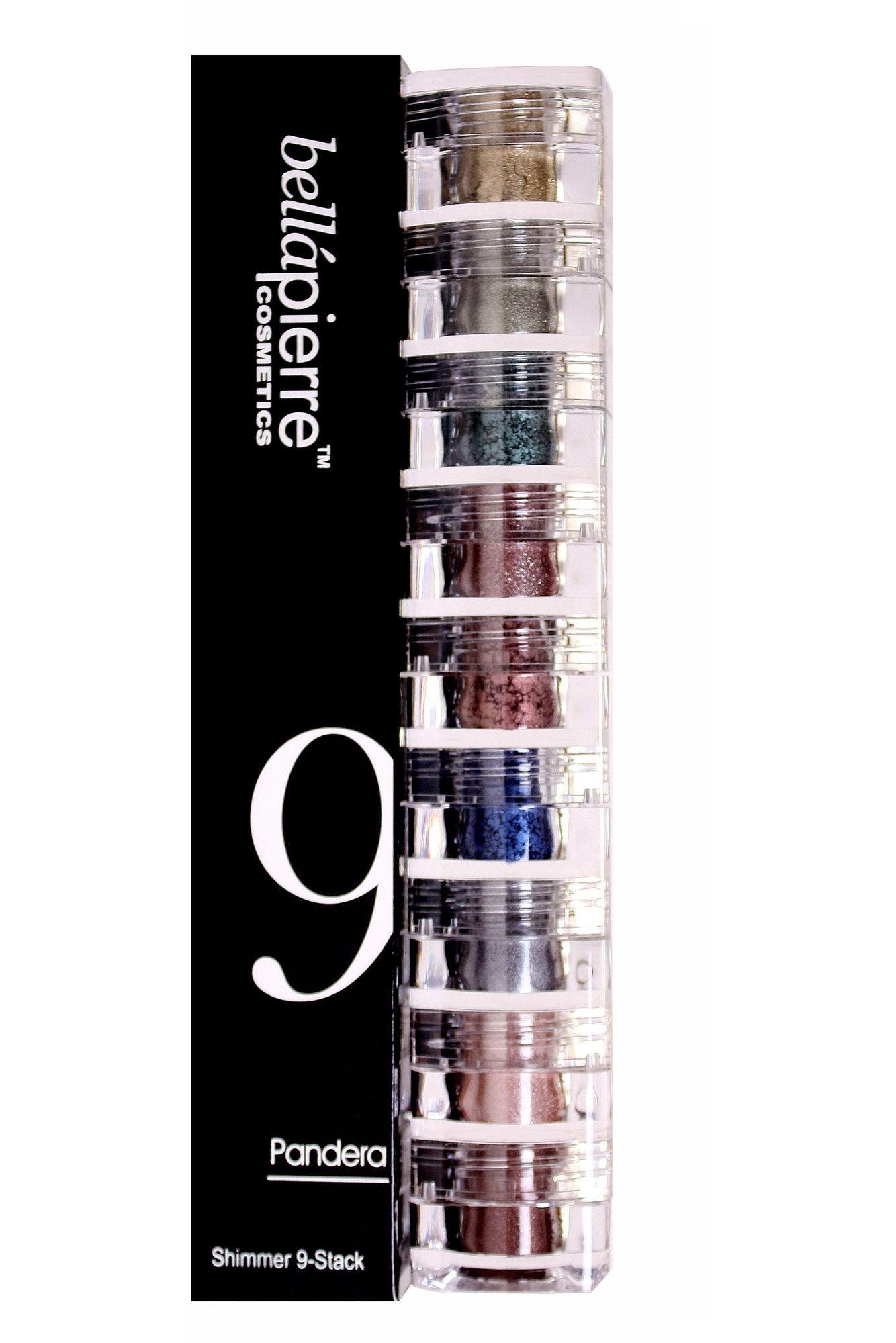 Bellapierre Shimmer 9Stack, Pandera Multi style