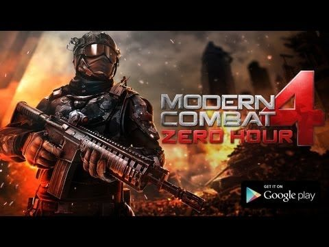 Download Modern Combat 4 Zero Hour 1 0 5 Apk Www Andro9 In Fps Games Combat First Person Shooter