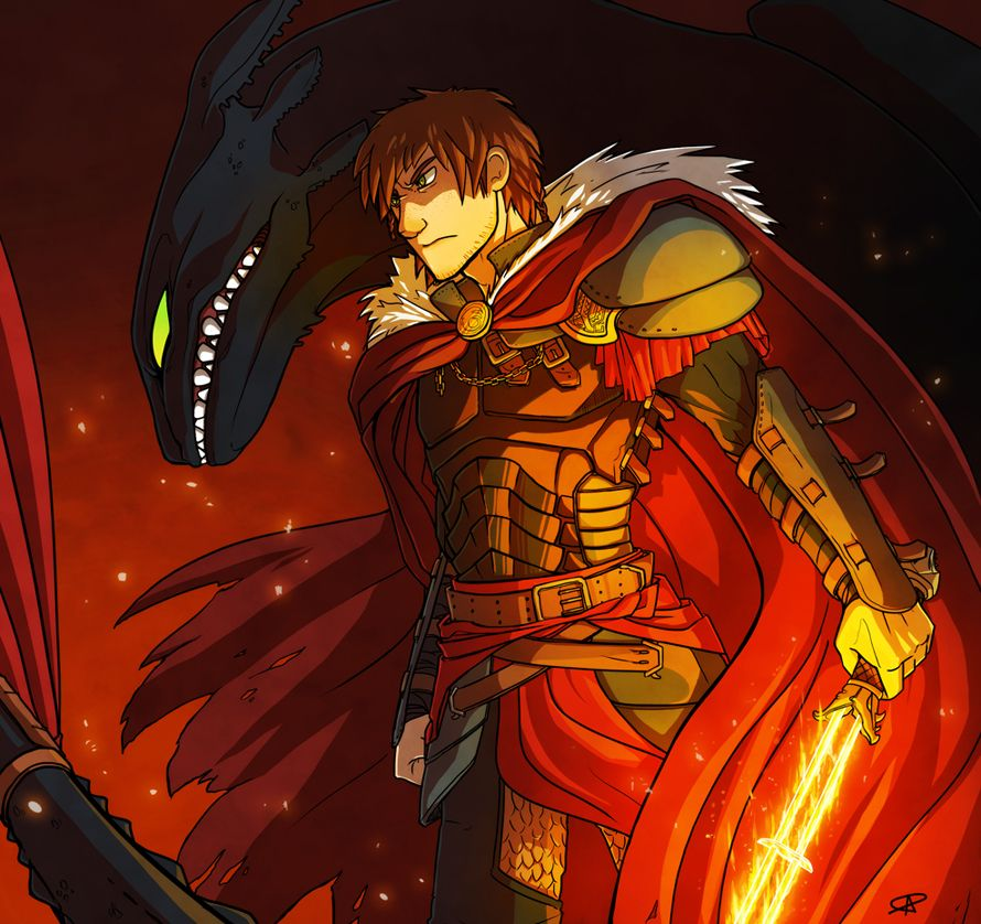 Adult Hiccup - I really like this.