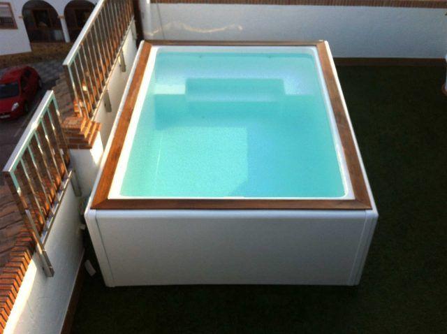 Piscina Fibra Cano Swim Spa Mini Piscinas Valencia Con Imagenes
