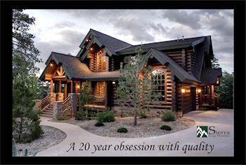 Sierra Log Homes   Log Cabins, Log Home Floor Plans, Log Cabin Plans ...