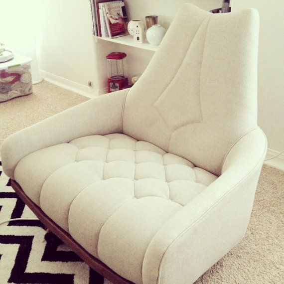 Mid Century Modern Lounge Chair Amazing By Gretabeanhome On Etsy