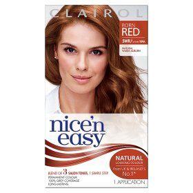 Nice N Easy Permanent Hair Colour Natural Warm Auburn 5rw With