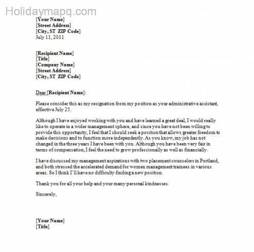 Nice Resignation Letter Template Holidaymapq Pinterest Resume