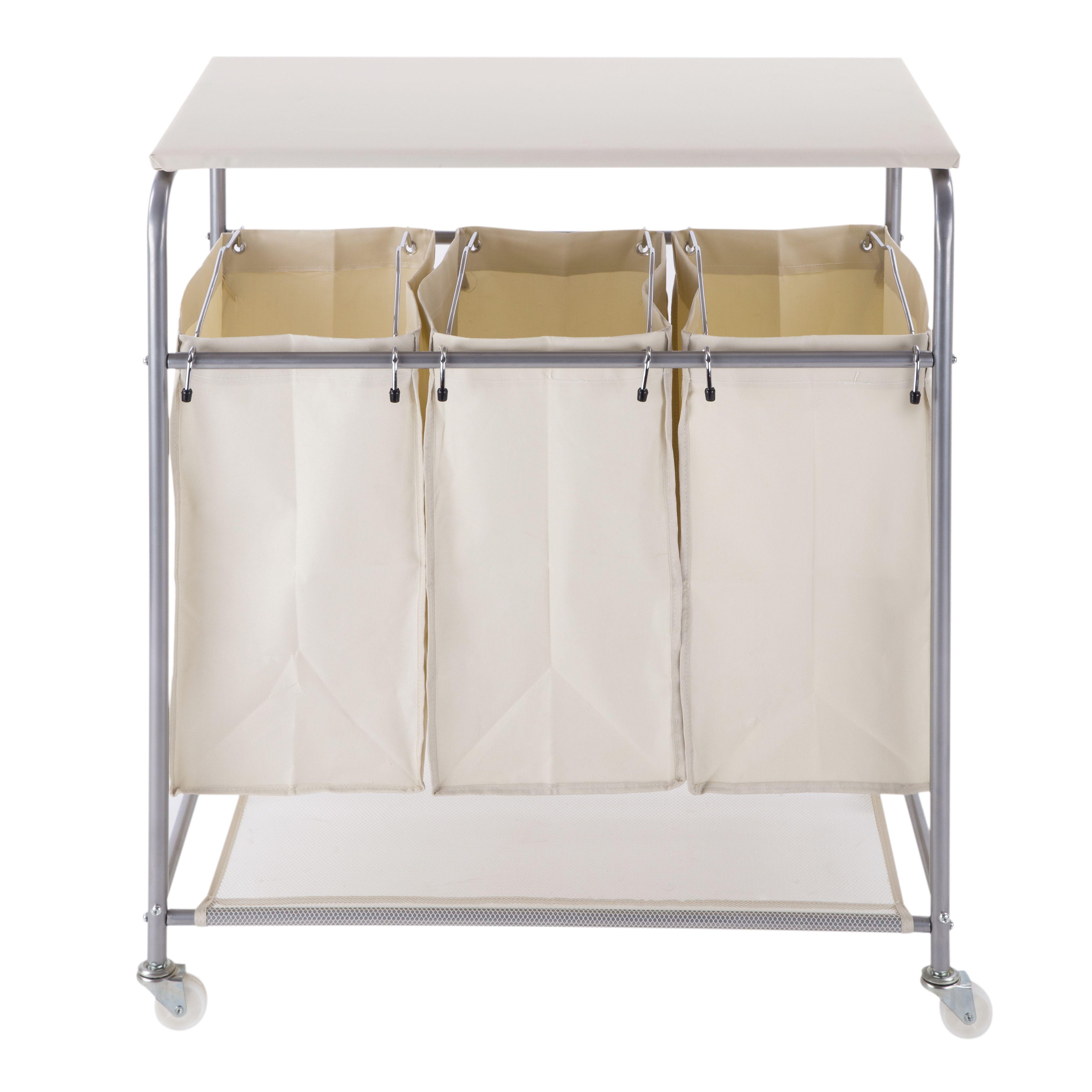 Sorter Laundry Cart Hamper With Ironing