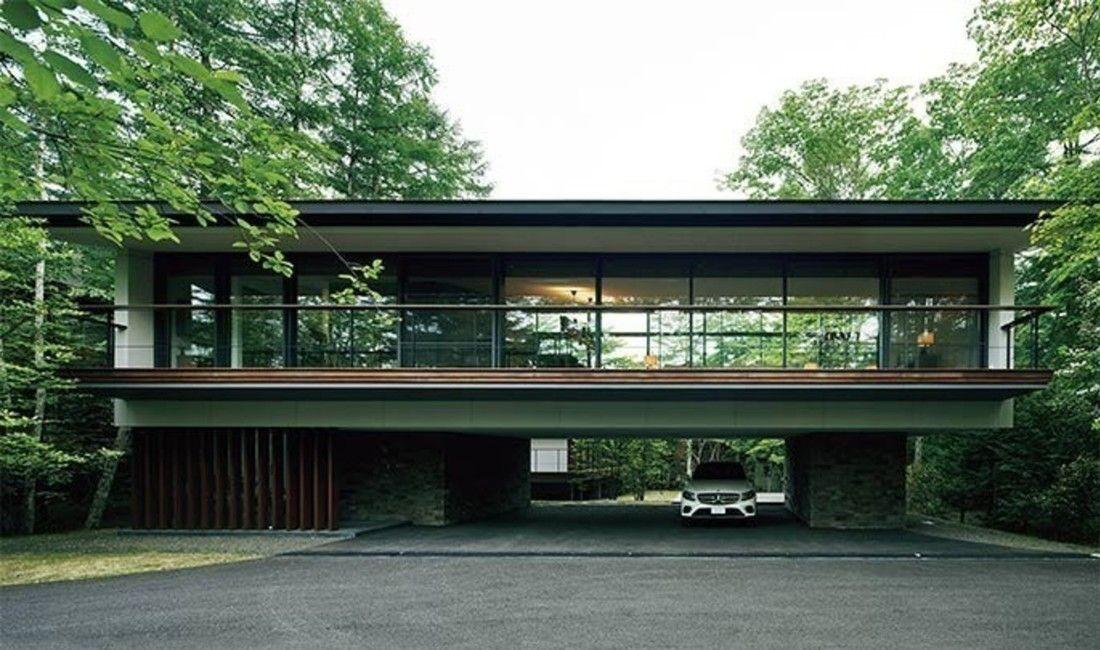 建築とワインで人と人をつなぐ 軽井沢の家 建築 家 軽井沢
