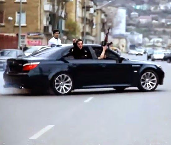 Meanwhile In Russia... Russian Mafia In BMW With A
