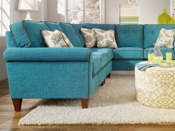 9 fotos de decoraci n de salas en color aguamarina for Decoracion de sofas