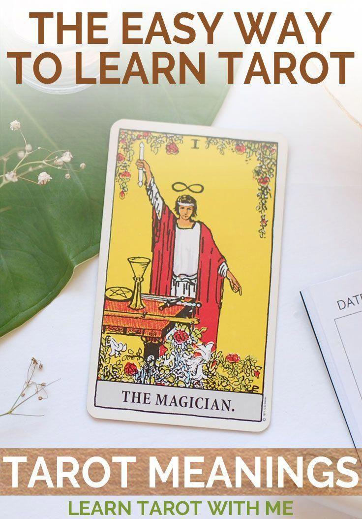 Learn the tarot card meanings for the magician tarot card
