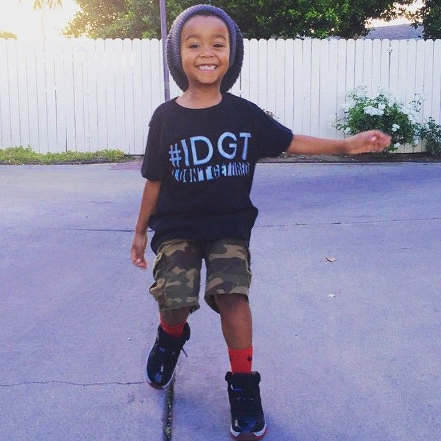 I don't get tired! @2henryboys looking all smiles in our IDGT shirt! Thanks for the share don't forget to enter your cuties in our big kid rep search going on now--See original post for details