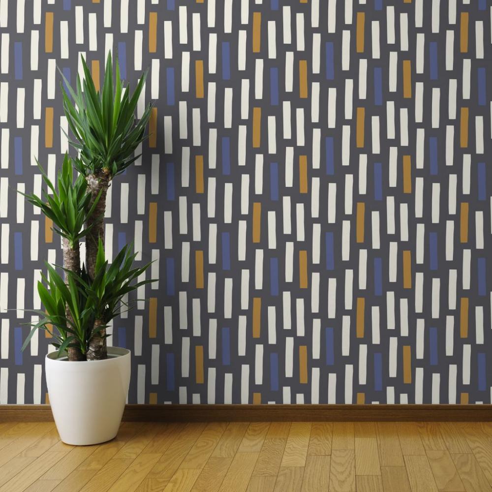 Peel And Stick Removable Wallpaper Geometric Scandinavian Graphic Block Squares Walmart Com Wallpaper Panels Removable Wallpaper Scandinavian Placemats