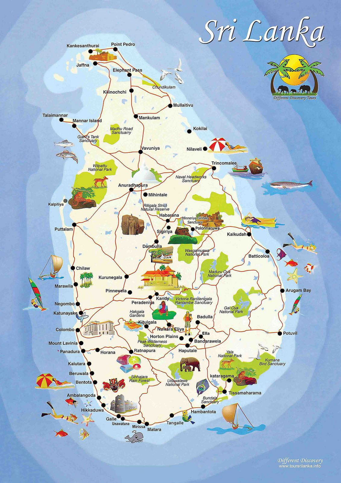 Sri lanka 0 sri lanka travel maps and wanderlust - Sri lankan passport office in colombo ...