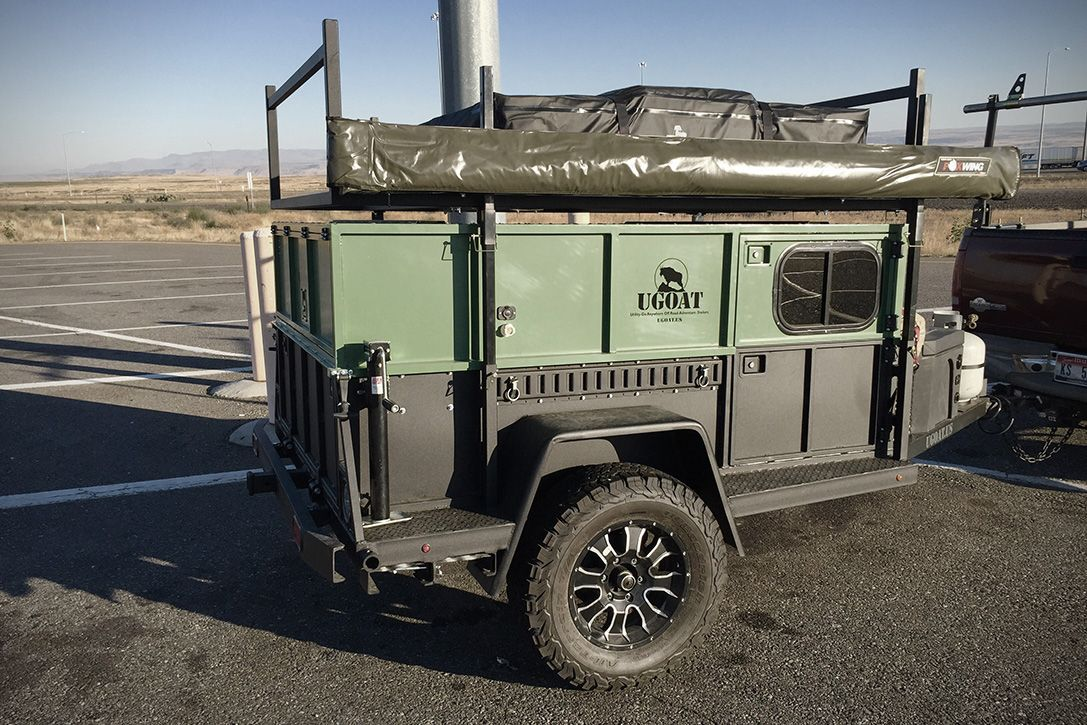 Ugoat Scout Off Road Camping Trailer 5 Bug Out Trailers
