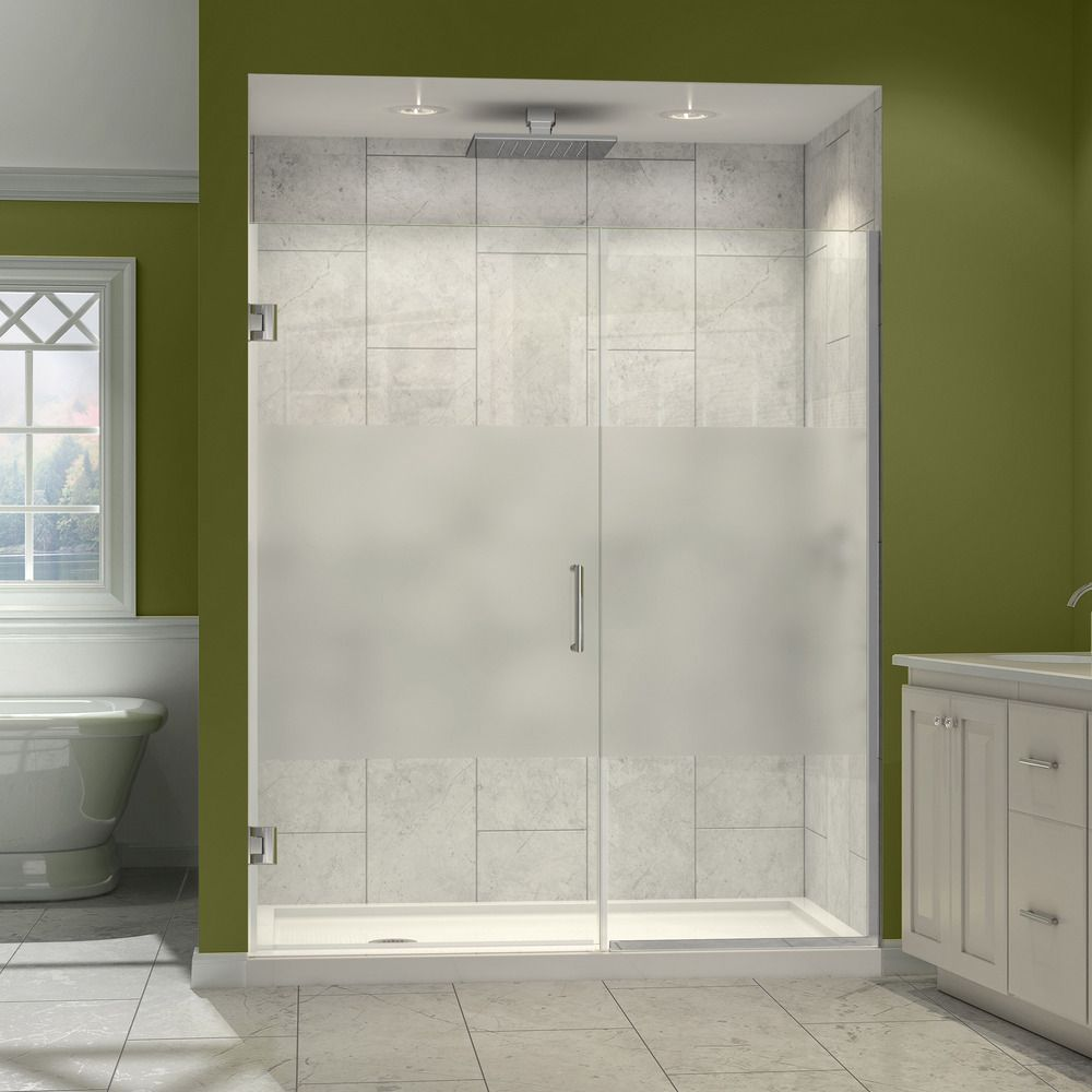 Dreamline Unidoor Plus 60 61 In W X 72 In H Hinged Shower Door