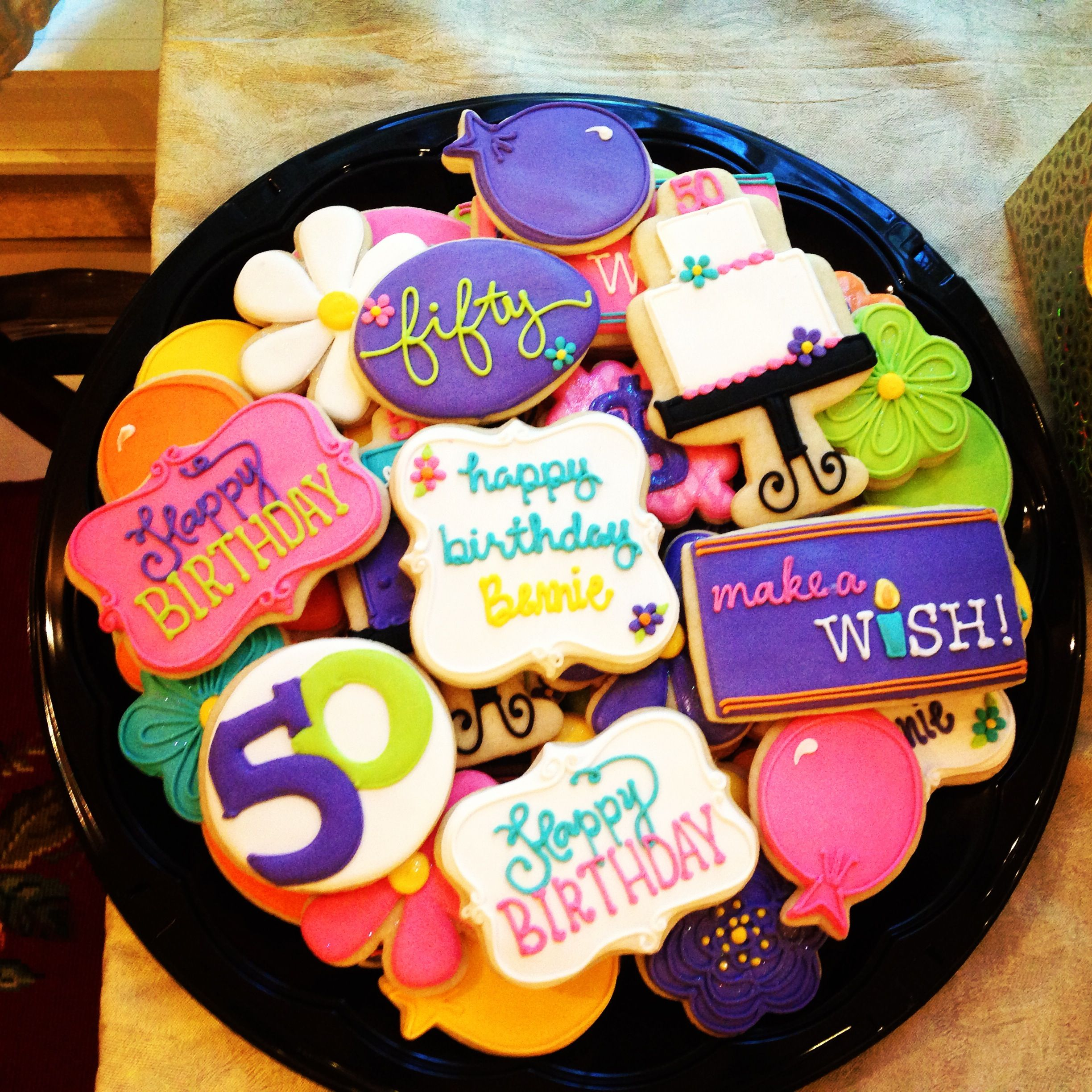 Best Birthday Cookies Ever