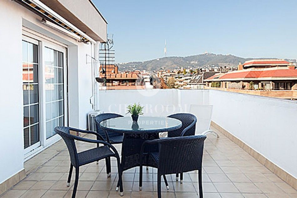 3 bedroom penthouse for rent in Sant Gervasi