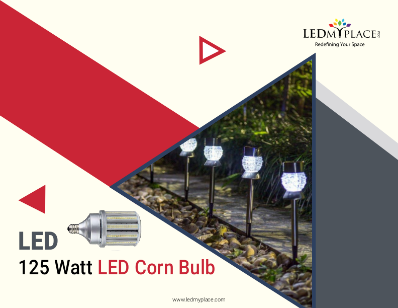 Create Your Ambience With 125w Led Corn Bulb Purchase Now Bulb Led Led Bulb