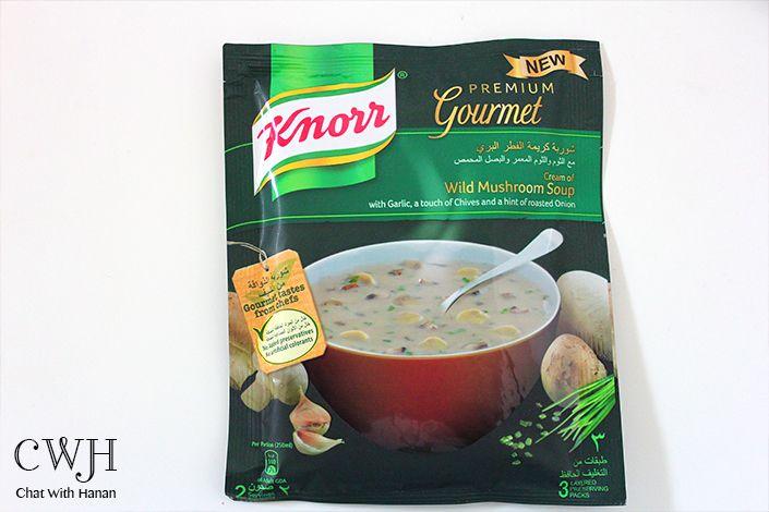 Chat With Hanan شوربة كريمة الفطر البري من كنور Gourmet Tasting Stuffed Mushrooms