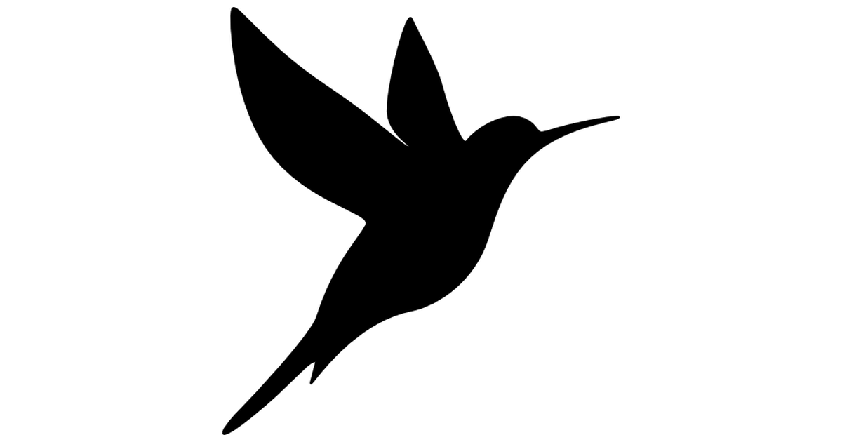 Hummingbird Free Vector Icons Designed By Freepik Vector Free Free Icons Silhouette Art