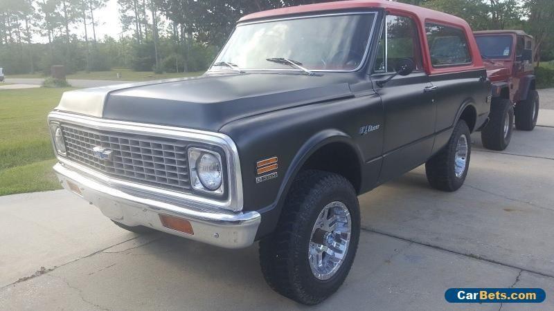 Car For Sale 1972 Chevrolet Blazer Classic Chevy Trucks