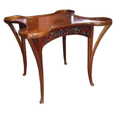 Gauthier Art Nouveau Table #6815 Library   Living Room Solutions - antike moebel epochen merkmale