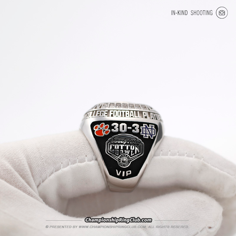 2018 Clemson Tigers CFP National Championship Ring www