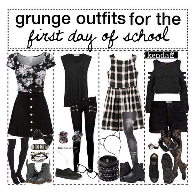 grunge outfits for the first day of school // k e n d a l l
